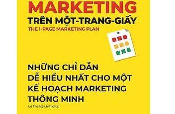 Kế hoạch Marketing trên một trang giấy