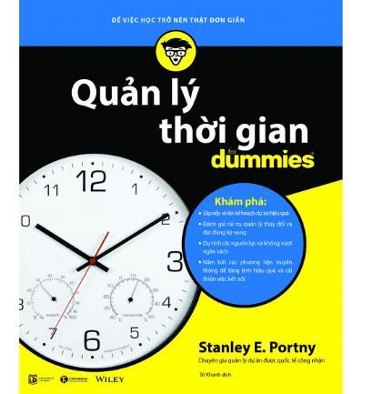 Quản Lý Thời Gian For Dummies - Quyển sách giúp bạn quản lý thời gian một cách tối ưu nhất